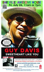Turn a kid on to the blues...Guy Davis is a master!