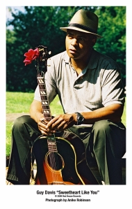 Over the years, Guy has been nominated for nine W.C. Handy awards including 'Best Traditional Blues Album,' 'Best Blues Song,' and 'Best Acoustic Blues Artist.' In 2004 NPR chose his album, Legacy, as one of the Best CDs of the Year.