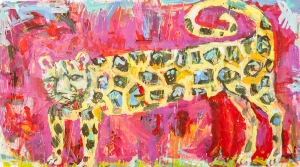 Molly MacBean Shaw painting featured in Undeserved Blessings exhibition.