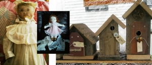 collage for fb of dolls andhouses